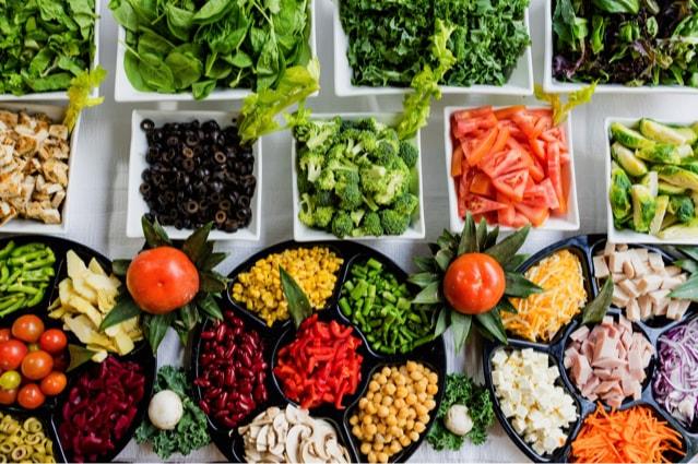Essen Sie gesunde Nahrung auch beim Abnehmen