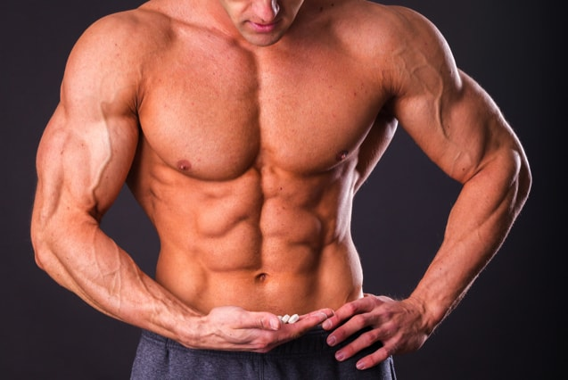Starke Muskeln durch Nahrungsergänzung