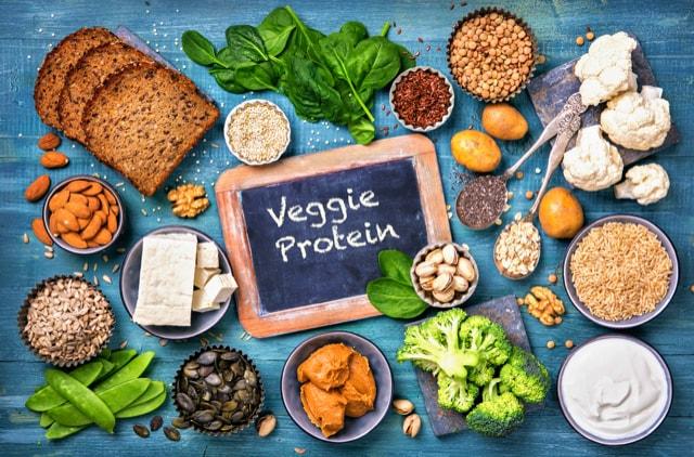 Veganer brauchen Lebensmittel reich an Aminosäuren