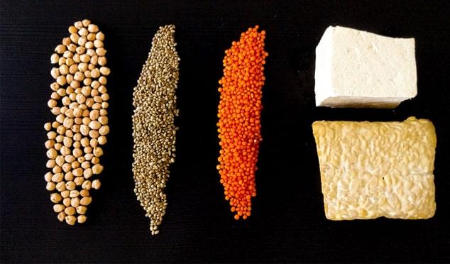 Aminosäure in unserer Nahrung