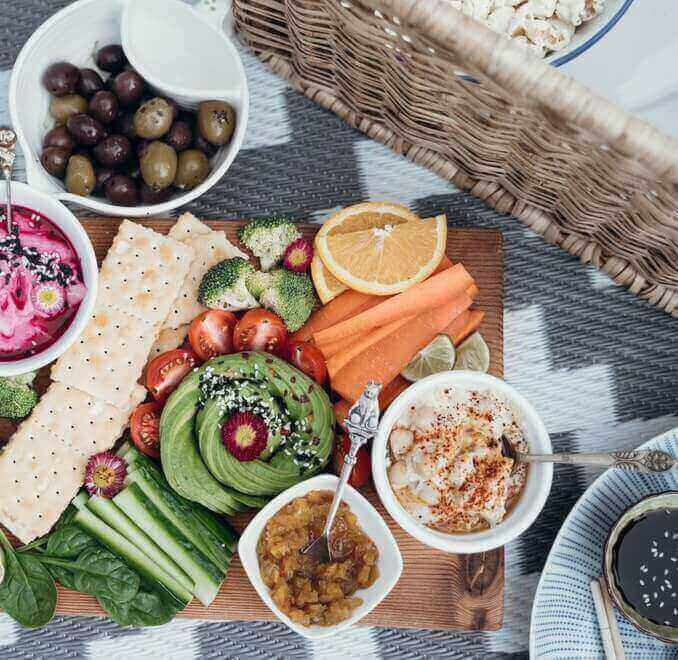 Vegan Essen als Alternative zur Untersützung vom Muskelaufbau