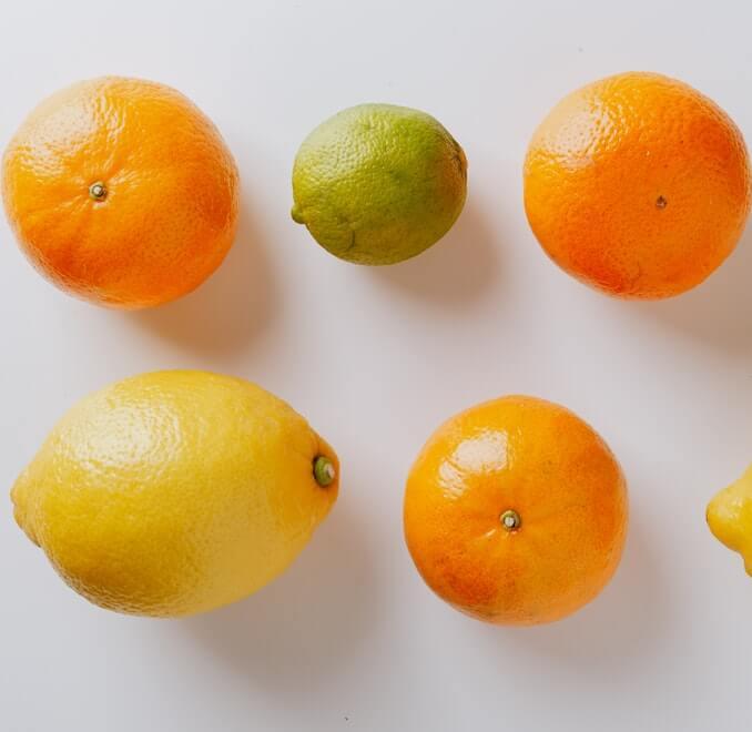 Obst und Gemüse enthalten wertvolle Vitamine