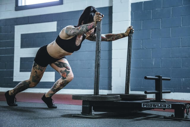 Östrogen beeinflusst den Muskelaufbau der Frau