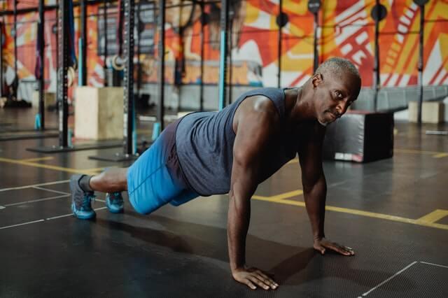 Liegestütze für mehr Muskeln