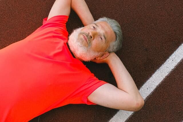 Sport und Training unterstützten den Heilungsprozess