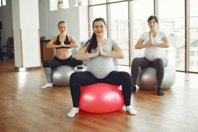 Schwangerensport unterstützt die Geburt