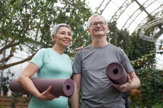 Bleiben Sie im Alter aktiv und fit