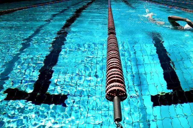 Trainingsbereiche für Schwimmer