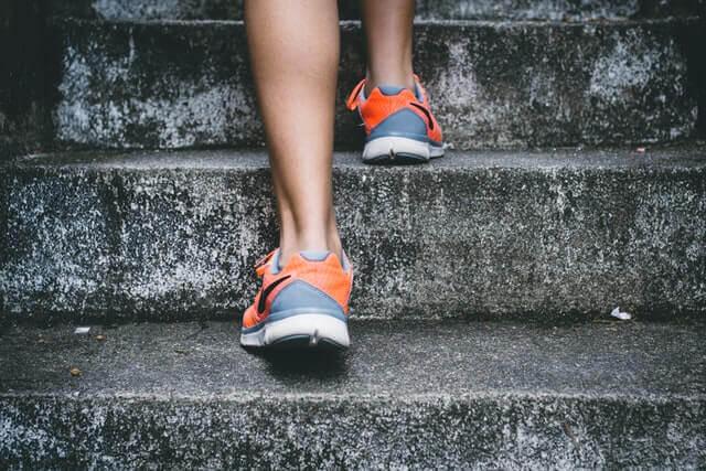 Treppensteigen im Laufsport