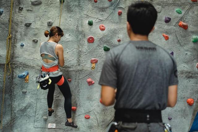 Klettern trainieren