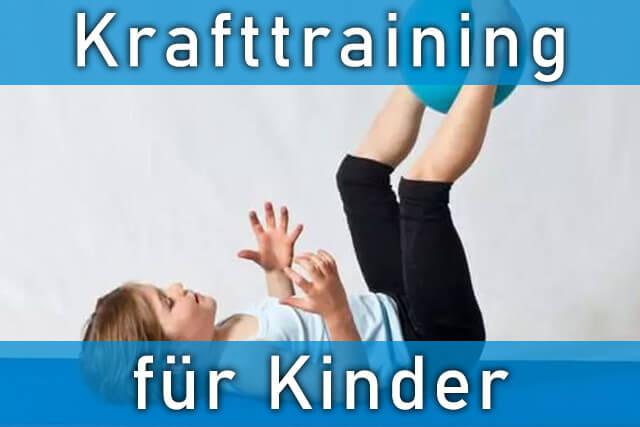 Krafttraining Kind